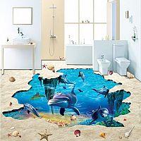 3D padló a nappaliba vagy a fürdőszobába. Hogyan készül?