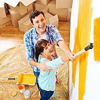 Hogyan fessük ki a hálószobát, gyerekszobát vagy a nappalit saját kezűleg?