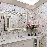 Tapéta a fürdőszobába? Öntapadós vagy 3D akármilyen felületre.