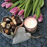 Valentin-napi otthon díszítés
