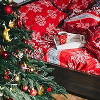 A karácsonyi mintájú ágynemű megadja a karácsony hangulatát!