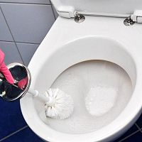 Hogyan távolítsuk el a vízkövet a wc-ből?