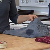Hogyan távolítsuk el az olajfoltokat a ruhákból?
