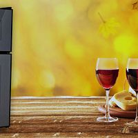 Kétzónás borhűtő - kiváló otthoni hűtőszekrény borok hűtésére