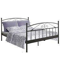 Bibi fekete kétszemélyes ágy, 180 x 200 cm - Støraa