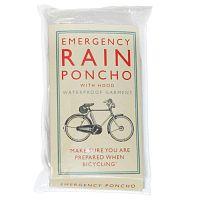 Bicycle egyszeri használatos kapucnis esőkabát - Rex London