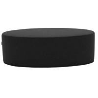 Bon-Bon Vision Black Grey fekete puff, hosszúság 60 cm - Softline