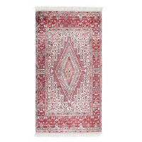Deri Dijital Maluna Red bársonyszőnyeg, 80 x 150 cm