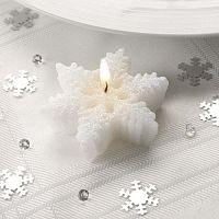 Snowflake 3 db-os gyertyaszett - Neviti