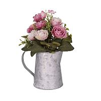 Szürkésfehér váza virágokkal - Antic Line