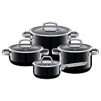 4 darabos fekete edénykészlet - WMF