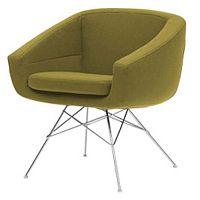 Aiko Eco Cotton Lime zöld fotel - Softline
