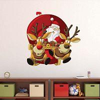 Allure Ses Rennes karácsonyi matrica - Ambiance