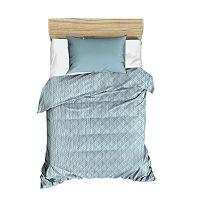 Amanda világoskék steppelt ágytakaró, 160 x 230 cm