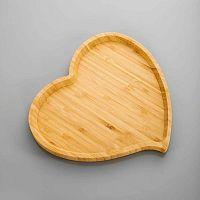 Amor találó alátét bambuszból, 23 cm - Bambum