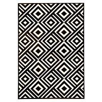 Art fekete-bézs szőnyeg, 140 x 200 cm - Hanse Home