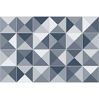 Azulejos Shades 24 részes dekorációs falmatrica szett, 15 x 15 cm - Ambiance