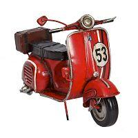 Bagages dekorációs motorkerékpár - Antic Line