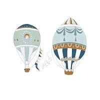 Ballons 2 db-os falmatrica szett - Dekornik