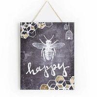 Bee Happy kép 40 x 50 cm - Graham & Brown