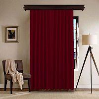 Bordeaux piros függöny, 140 x 260 cm