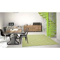 Braid zöld fokozottan ellenálló szőnyeg, 160 x 230cm - Floorita