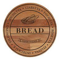 Broad Bread bükkfa tálalódeszka/vágódeszka, ø 30cm - Bisetti