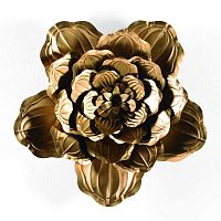 Bunga aranyszínű dekoráció, ⌀ 69 cm - Thai Natura