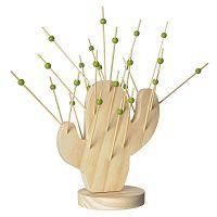 Cactus Cocktail Picks bambusz kínáló falatka pálcikával - Le Studio