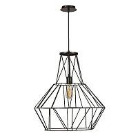 Cage Diamond fekete mennyezeti lámpa