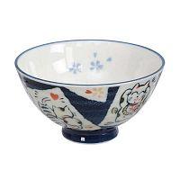 Cat kék-fehér tálka, ø 11,2 cm - Tokyo Design Studio