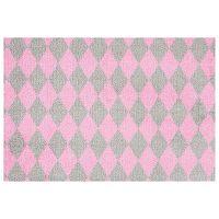 Circus szürke-rózsaszín lábtörlő, 50 x 70 cm - Hanse Home