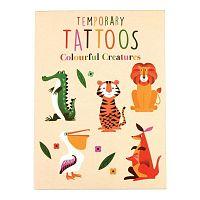 Colourful Creatures lemosható tetoválások - Rex London