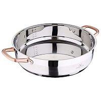 Copper rozsdamentes acél paella serpenyő, 6 l - Bergner