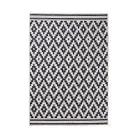 Cottage fekete szőnyeg, 120 x 170 cm - Think Rugs