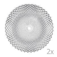 Dancing Stars - Rumba 2 db nagy kristályüveg tányér, ⌀ 32 cm - Nachtmann