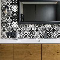 Decal Tiles Azulejos Rosario 30 db-os falmatrica szett, 10 x 10 cm - Ambiance