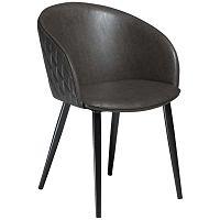 Dual sötétszürke műbőr szék - DAN-FORM Denmark