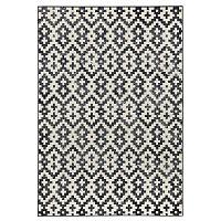 Duo fekete-fehér szőnyeg, 160 x 230 cm - Zala Living