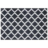 Elegance fekete-fehér lábtörlő, 50 x 70 cm - Zala Living