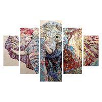Elephant ötrészes kép