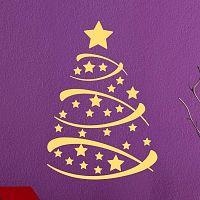 Fanastick Christmas Tree karácsonyi falmatrica - Ambiance