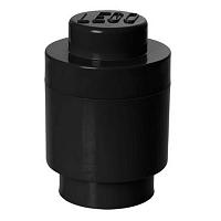 Fekete henger alakú tároló doboz - LEGO®