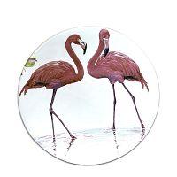 Flamingo kerámia tányér, ⌀25cm