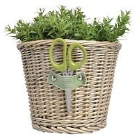Fonott virágedény ollóval - Esschert Design