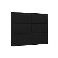 Gala fekete háttámla, 180 x 120 cm - HARPER MAISON