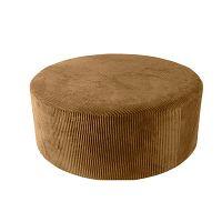 Glam barna kordbársony puff, 90 x 35 cm - Leitmotiv