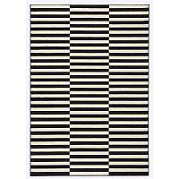 Gloria Panel fekete-fehér szőnyeg, 200 x 290 cm - Hanse Home