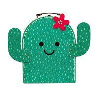 Happy Cactus gyerek bőrönd - Sass & Belle