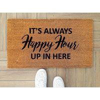 Happy Hour lábtörlő, 70 x 40 cm - Doormat